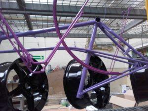 lakierowanie proszkowe ram rowerowych i felg
